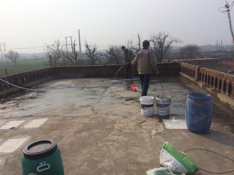 鄭州屋面漏水采用賽諾技術處理案例