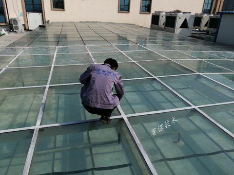 滎陽玻璃房屋面滲漏水綜合治理案例