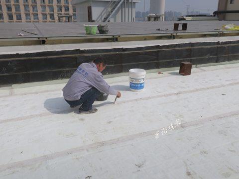 滎陽廣場磚屋面漏水治理案例