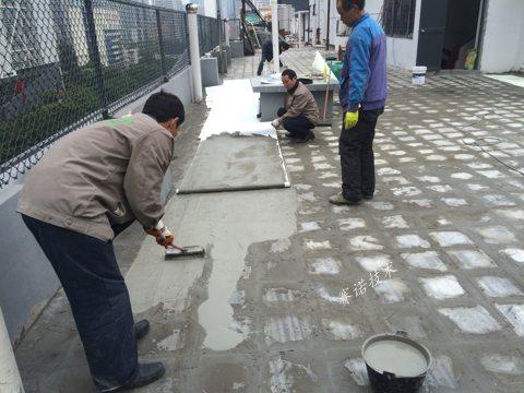 廣州廣場磚屋面漏水治理案例