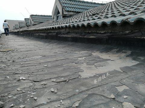 大學斜屋面滲漏水治理案例